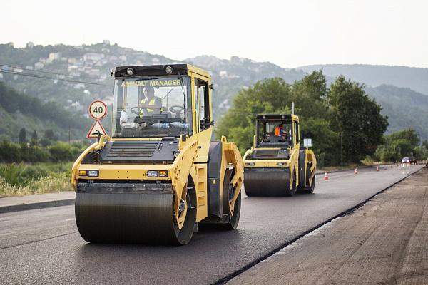В Сочи заканчивают ремонт самой длинной дороги.